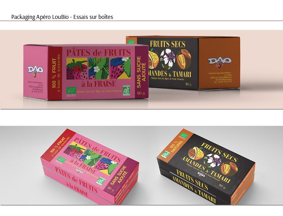 packaging boite apero